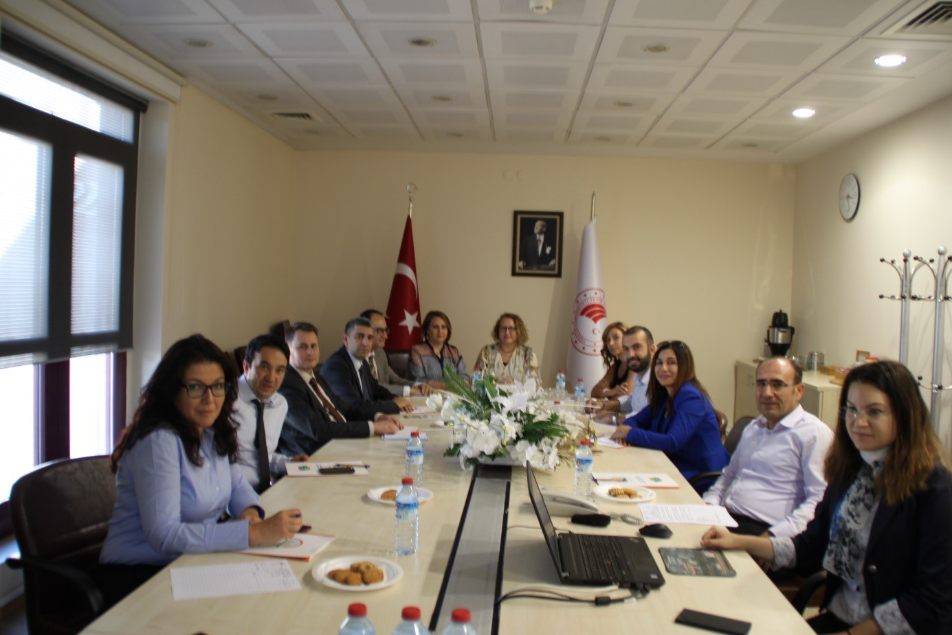 VISIT OF LEBANON DELEGATION TO OUR DIRECTORAT